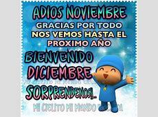 Good Bye November en imágenes – Adios Noviembre con frases
