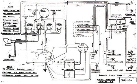 Boat Wiring Diagram Schematic Soke