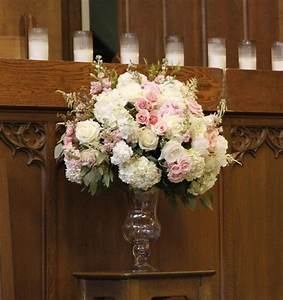 pink altar arrangement google search susan 4122016 With wedding ceremony flower arrangements altar