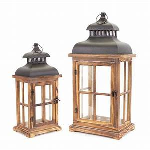 black lantern set of two melrose international indoor With kitchen cabinets lowes with birdcage lantern candle holder
