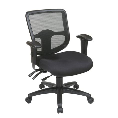 pro line ii black office chair 98344 30 the home depot