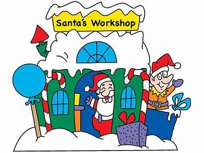 Workshop Santa Drawings Plan Yard Christmas Plans