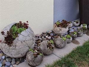 Steine Zum Bepflanzen : betonplausch juli 2014 beton pinterest ~ Eleganceandgraceweddings.com Haus und Dekorationen