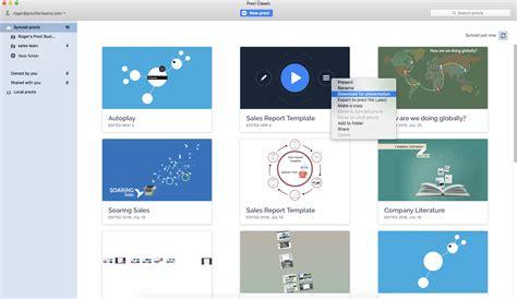 Downloading your Presentation (Portable Prezi) in Prezi ...