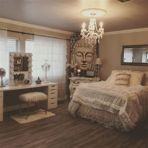 Zen Bedroom Decor Ideas by Shabby Chic Meets Zen Glam Nyc Apartment Chic Master