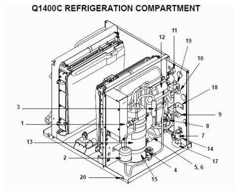 manitowoc qya ice machine parts diagram periodic