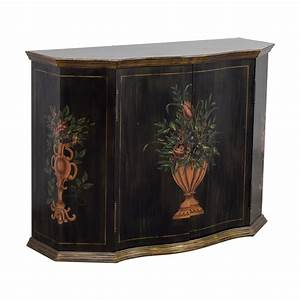 56 off ethan allen ethan allen floral hand painted With kitchen cabinets lowes with ethan allen wall art