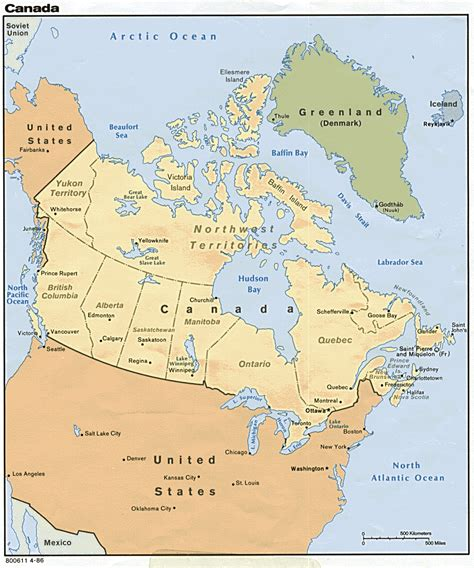 canada map geography map  canada city geography