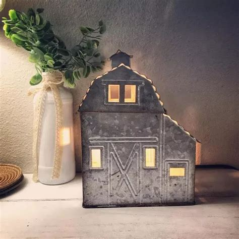 scentsy warmer country living barn wax warmers scented candle farmhouse galvanized plug rust give body link door fragrance steel better