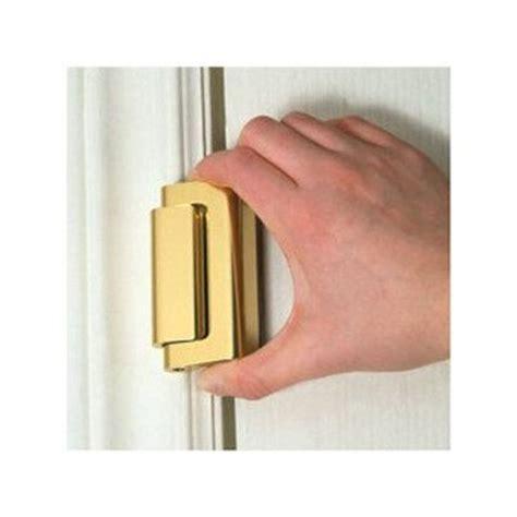 Ideas For Kitchen Cabinet Doors - door guardian door guardian dg01 b polished brass security latch lowe 39 s canada