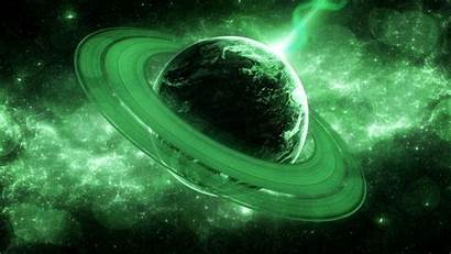 Galaxy Planet Universe Space Stars Digital Glowing