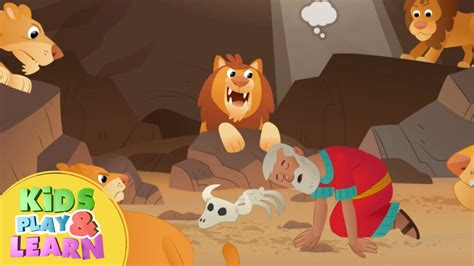 daniel and the lions den story for preschoolers this print 977 | maxresdefault