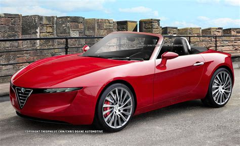 2014 Mazda Mx-5 Miata And Alfa Romeo Spyder