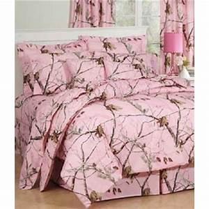 Realtree, Ap, Pink, Camo, 8, Pc, Queen, Size, Comforter, Set