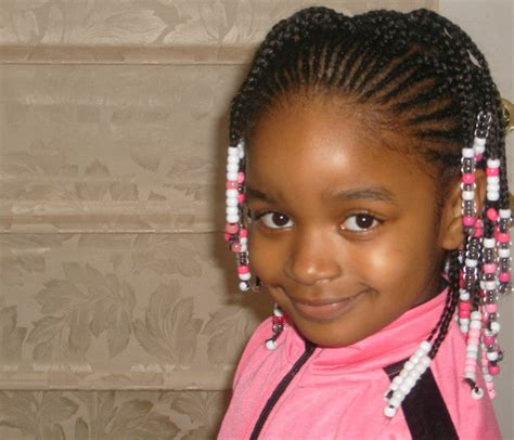 Black Girl Hairstyle For Kids