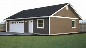 garage w office and workspace true built home pacific With 40x40 garage kit