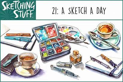 Sketch Stuff Sketching Episode Doodlewash