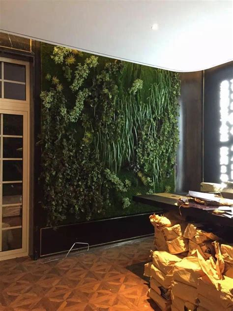 artificial moss  turf plant wall decoration micro