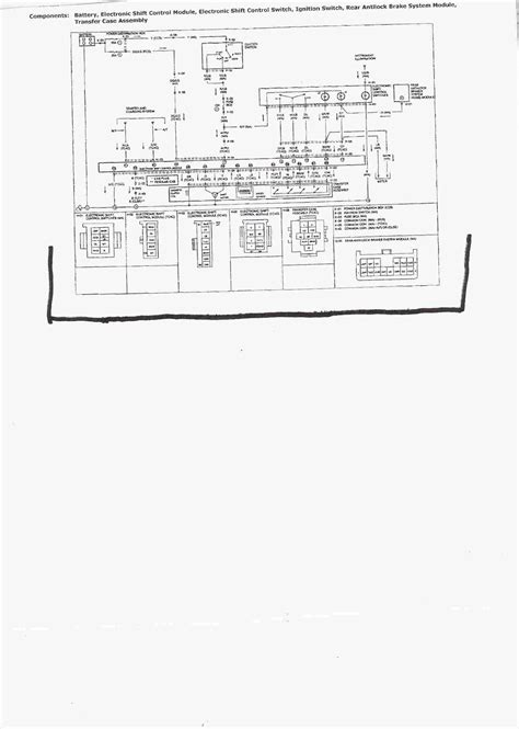 94 Mazda B4000 Wiring Diagram by I A 94 Mazda B4000 4x4 I Cannot Get The Front Axle