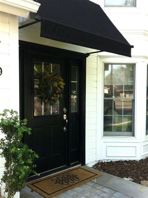 fixed awnings  united states canvas awnings glass front door awning  door