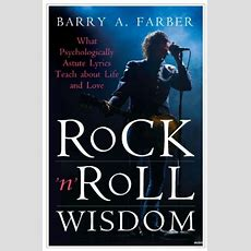 Download Rock 'n' Roll Wisdom What Psychologically Astute