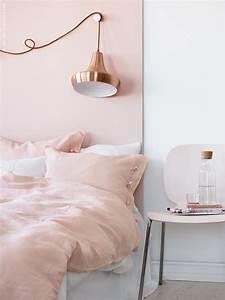 Rose Gold Wandfarbe : diy copperrose linblomma ikea livet hemma inspirerande inredning f r hemmet ~ Frokenaadalensverden.com Haus und Dekorationen