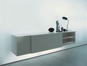 Buffet Metal Ikea : minimalist home office decoration with ikea sideboard in gray finish and wall mounted sideboard ~ Teatrodelosmanantiales.com Idées de Décoration