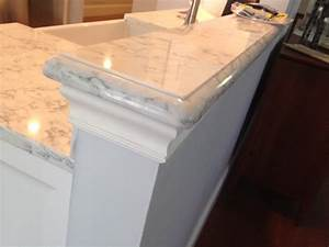 Ogee Edge on Viaterra Solid Surface - Transitional