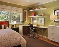 bedroom office ideas 40 Teenage Boys Room Designs We Love | Corner Desk, Desks ...