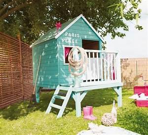 Cabane Exterieur Enfant : maison enfant exterieur cabanes abri jardin ~ Melissatoandfro.com Idées de Décoration
