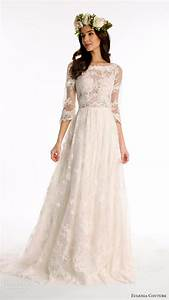 high quality lace bohemian wedding dresses 2017 3 4 With wedding dresses with sleeves 2017