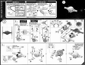 1  72 First Order Tie Fighter English Manual  U0026 Color Guide
