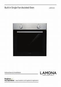 Lamona Single Fan Assisted Oven
