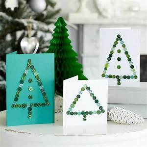 Bilder Mit Knöpfen : weihnachtskarten selber basteln mit kn pfen 28 tolle ideen ~ Frokenaadalensverden.com Haus und Dekorationen