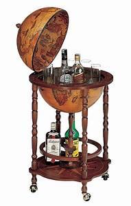 Bar Globe Terrestre : mappemonde globe terrestre bar sur roulette reproduction vintage steampunk japan attitude ~ Teatrodelosmanantiales.com Idées de Décoration