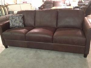 b580 sofa in brown leather by natuzzi editions natuzzi With natuzzi leather sectional sofa sale
