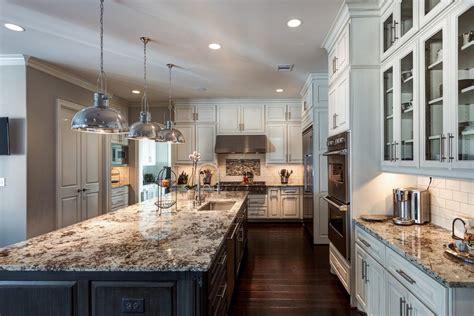 titantium  lennon granite kitchen kitchen traditional