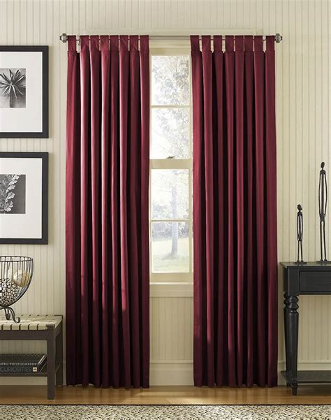 how should curtains be is it for curtain to touch the floor