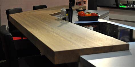 cuisine plan de travail bois massif comment entretenir plan de travail bois massif
