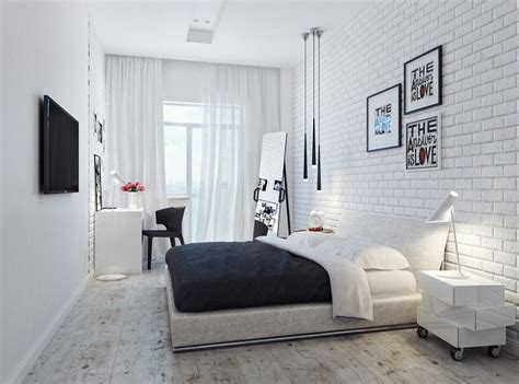 modele tapisserie chambre chambre adulte blanche 80 idées pour votre aménagement