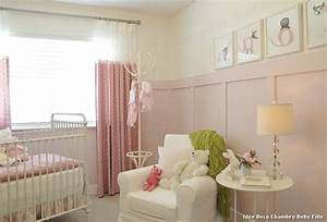 deco chambre fille idees accueil design et mobilier With idee de chambre bebe fille