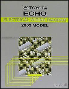 2002 Toyota Echo Electrical Wiring Diagram Manual