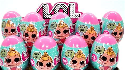 lol surprise bebes falsas lil sisters falsas en huevos