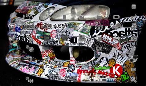 jdm decals japanese bumper sticker vinyl illest
