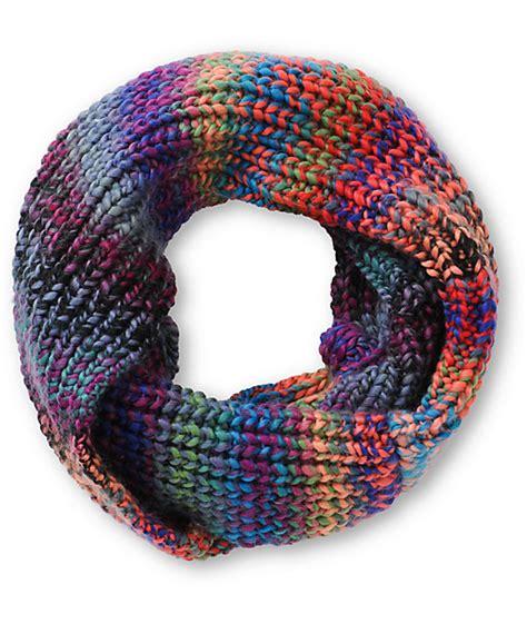 trillium vista space dye knit infinity scarf  zumiez pdp