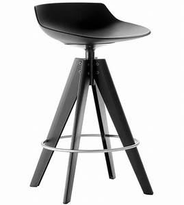 Tabouret 4 Pieds : flow stool tabouret avec 4 pieds acier mdf italia milia shop ~ Teatrodelosmanantiales.com Idées de Décoration