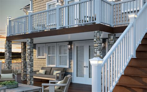 Composite Decking Over Concrete Porch