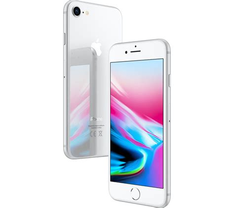 Buy Apple Iphone 8  64 Gb, Silver  Free Delivery Currys