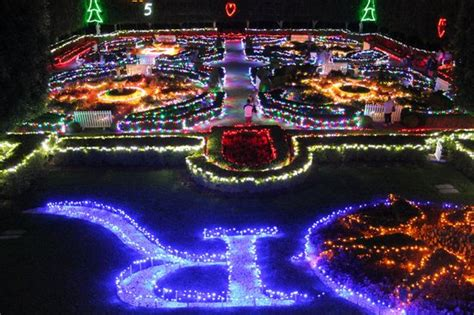 valley gardens lights picture of