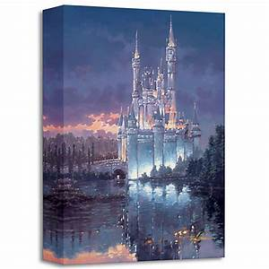 Cinderella Castle Royal Reflection Giclee Painting ...